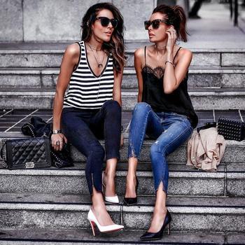 Самые красивые джинсы: лучшие образы с джинсами