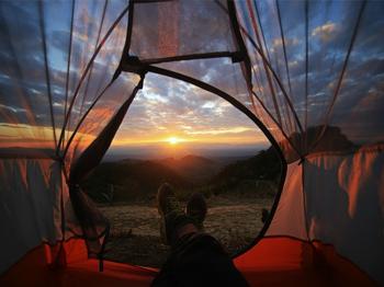 Новый тренд дикого туризма – палатки с прозрачными стенками