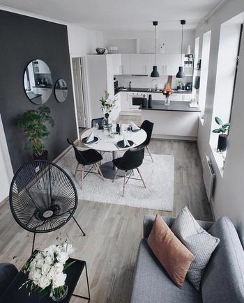 Зонирование маленькой квартиры: как уделить каждому свой уголок