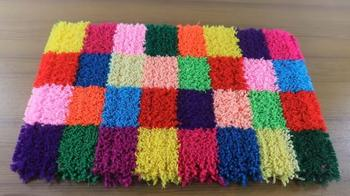 Коврик без вязания, шитья и плетения
