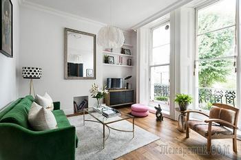 Прекрасная квартира со вкусными деталями в Лондоне