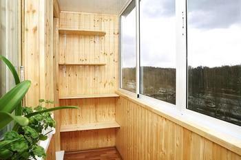 Обшиваем балкон вагонкой своими руками