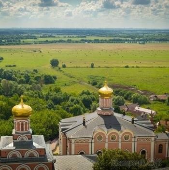 Обитель Любви...Снимки разных лет Св.Иоанно-Богословского монастыря