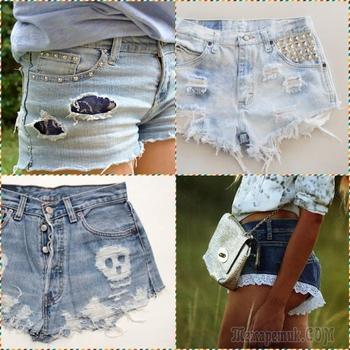 Что сделать из старой джинсовой одежды: 60 идей