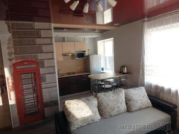 Квартира-студия с выделенной спальной зоной