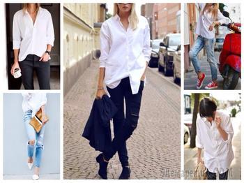 Как правильно носить рубашку и джинсы: модные идеи
