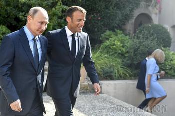 Уважайте суверенитет: Путин рассказал Макрону о Сирии