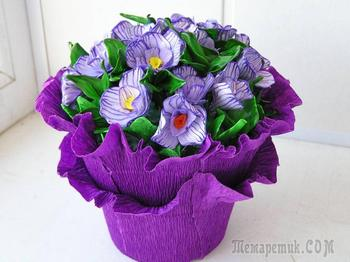 Как сделать цветы из бумаги своими руками