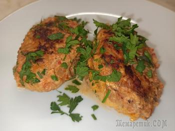 Нежные и сочные ленивые голубцы в сметанно - томатной заливке.