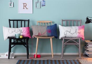 Декоративные подушки своими руками: как задать настроение любому интерьеру?