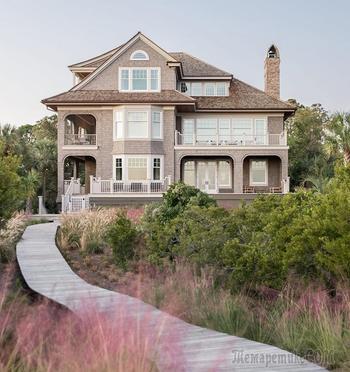 Традиции юга: дом для большой семьи в США