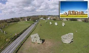 Таинственные деревянные круги комплекса Эйвбери в Англии