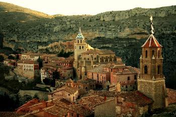 Альбаррасин: одна из самых красивых деревень Испании