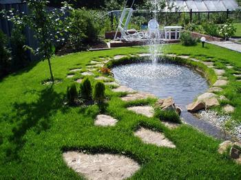 Фонтан в саду своими руками: инструкция по созданию мини-фонтанов и водопадов