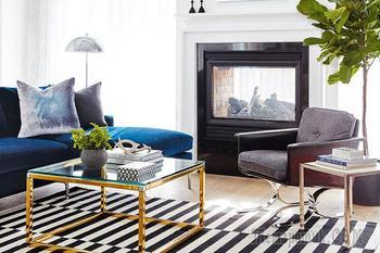 Легкость дизайна интерьера дома в богемном стиле
