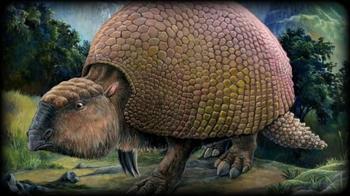 В Аргентине нашли останки гигантских предков современных броненосцев
