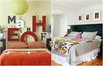 16 идей оформления изголовья кровати, которые сделают спальню стильной и уютной
