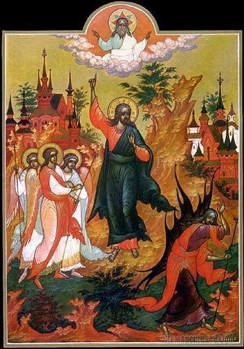 Православная тема в народном искусстве России. Часть 1. Палехская икона