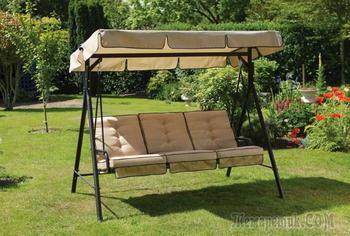 Как обустроить уголок отдыха на даче: гамаки, качели, кресла-гнезда