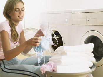 Вывести жирные пятна с одежды не проблема