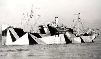 Для чего в Первую мировую на морских судах рисовали узоры
