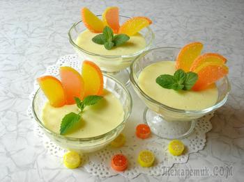 Ленивый лимонный поссет. Сладкоежки останутся довольны!