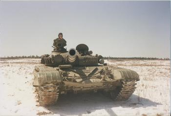 Подробности испытаний Т-72М1 в Канаде: 4 выстрела с 300 метров и 1 случайное пробитие