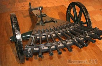Огнестрельное оружие, создатели которого пытались обогнать свое время
