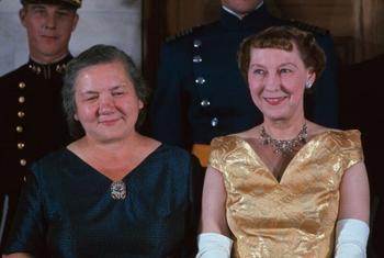 Какой мир увидел «первую леди» СССР в 1959 году?