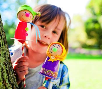 Куклы для кукольного театра своими руками