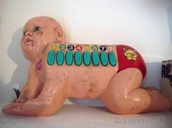 13 игрушек, которые должны были радовать детей, а в итоге пугают взрослых
