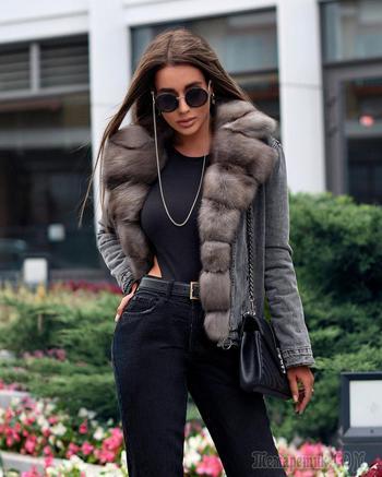 Как стильно носить меховые вещи осенью: 18 идей для уверенных в себе женщин