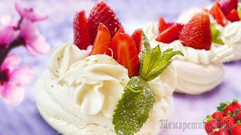 Десерт Павлова рецепт