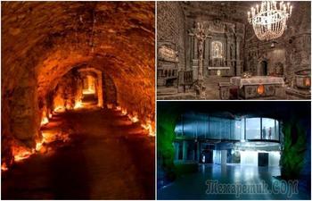 5 впечатляющих сооружений под землей, которые по размерам не уступают целым городам