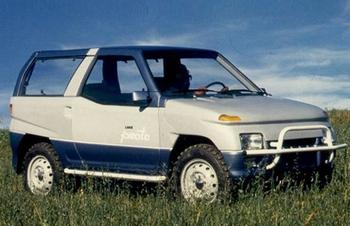 Многообещающие концепты автомобилей времен позднего СССР, которые так и не стали серийными