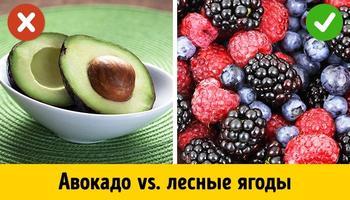 5 самых опасных и самых полезных фруктов для тех, кто работает над фигурой