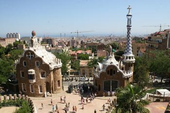 Творения Гауди: Парк Гуэля (Барселона)