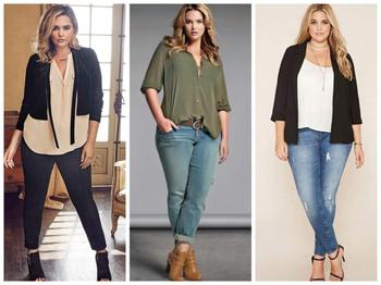 Что носить полным девушкам: гид по выбору одежды