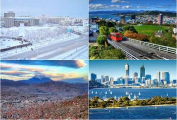 9 самых экстремальных городов мира