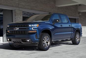 Chevrolet Silverado 2019 – новая генерация пикапа Шевроле