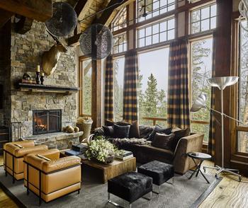 Горный дом в Монтане в другом облике