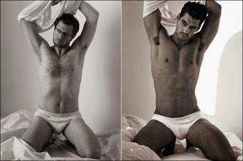 Если бы в рекламе нижнего белья снимались обычные мужчины... (юмор)