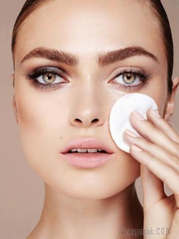 Снятие макияжа — ошибки, которых следует избегать