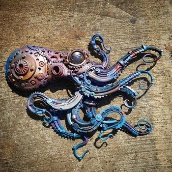 Потрясающие скульптуры, которые Алан Уильямс делает из металлолома
