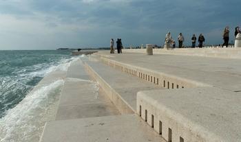 Удивительный морской орган в Хорватии
