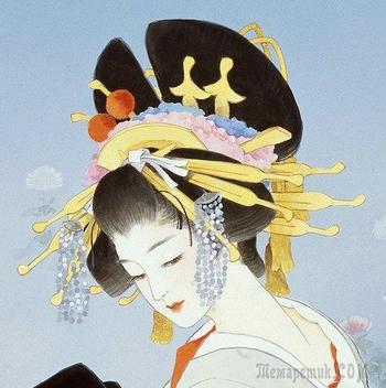 Гейши,сакура,кимоно...Японская художница Харуё Морита (Haruyo Morita)