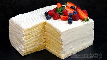 Больше никакой возни с коржами! Торт со вкусом МОРОЖЕНОГО за 30 минут! Молочная девочка