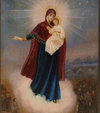 Икона Божией Матери Августовская: история, о чем молятся