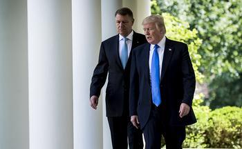 Президент Румынии выступил за увеличение военного присутствия США