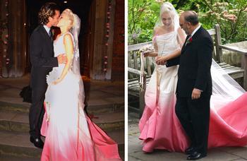 Как знаменитые невесты задают свадебные тренды